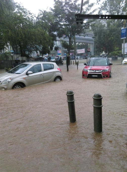 Heavy Rain In Bengaluru