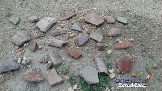 Ancient Fort Found In Padiyur Near Dindigul
