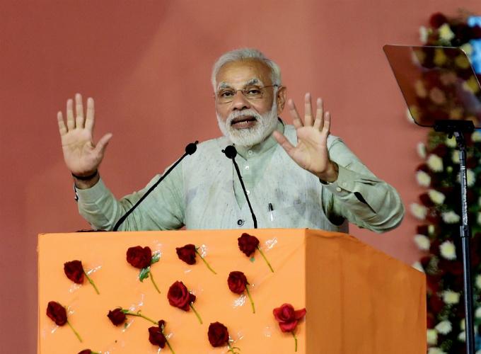Narendra Modi In Dharmasthala