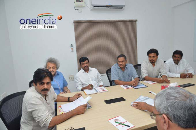 Pawan Kalyan Jana Sena Meeting To Chalk Out The Future Course Of Action