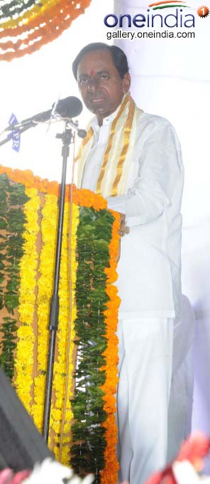Telangana CM K Chandrashekhar Rao Visits Siddipet And Sircilla Districts