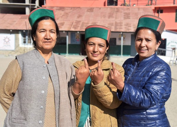 Himachal Pradesh Assembly Poll Voting