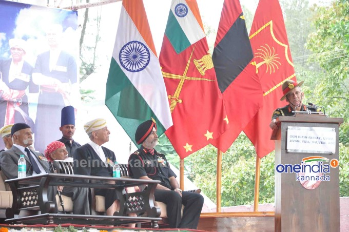 Army Chief General Bipin Rawat Unveiles Marshal Cariappa And Timmayya Statue In Madikeri