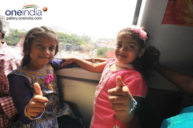 Hyderabad Metro Rail Scores Big On Day-One