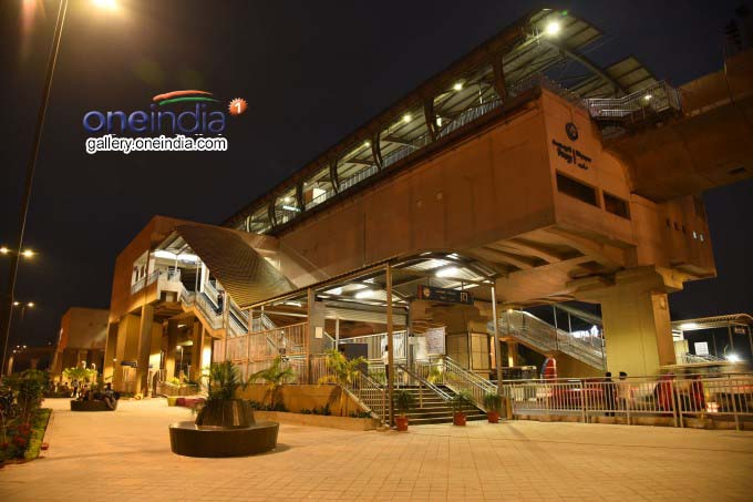 Metro Works At Ameerpet Maitrivanam