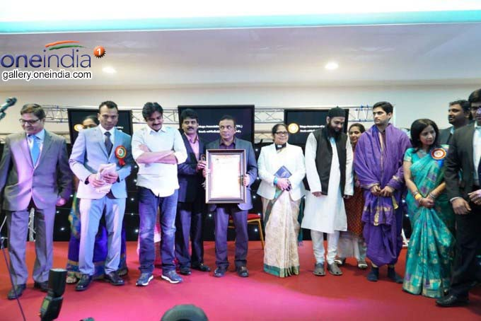 Pawan Kalyan Receives IEBF Award At The Global Business Summit