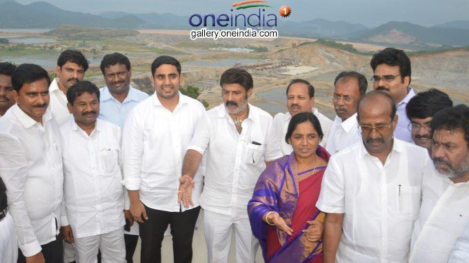 Image And Gallery: TDP Ministers & MLAs Along With Balakrishna And Lokesh Visits Polavaram Project