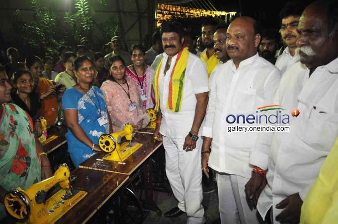 TDP MLA Balakrishna Floors Cadres In Visakhapatnam