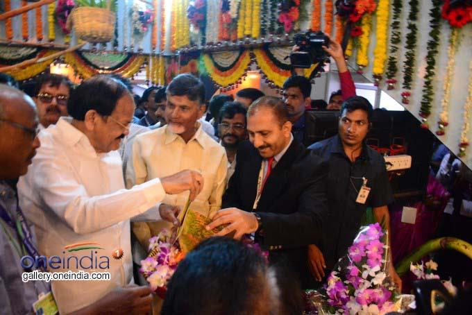 Photo Gallery: M Venkaiah Naidu Inaugurates AP AgTech Summit In Visakhapatnam