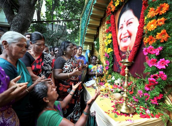 Jayalalithaa's First Death Anniversary