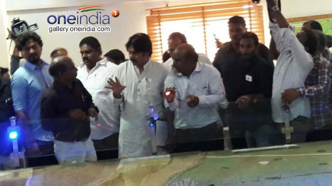 Janasena Chief Pawan Kalyan Visits Polavaram Project