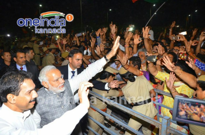 PM Modi Celebrates Gujarat And Himachal Victory In Mangaluru