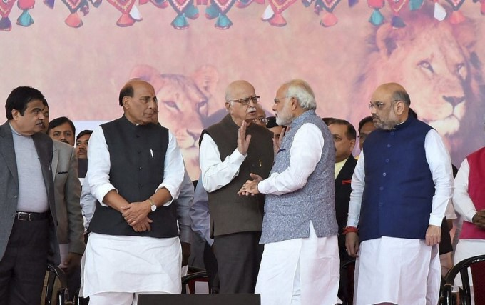 Vijay Rupani Takes Sworn In As Gujarat Chief Minister