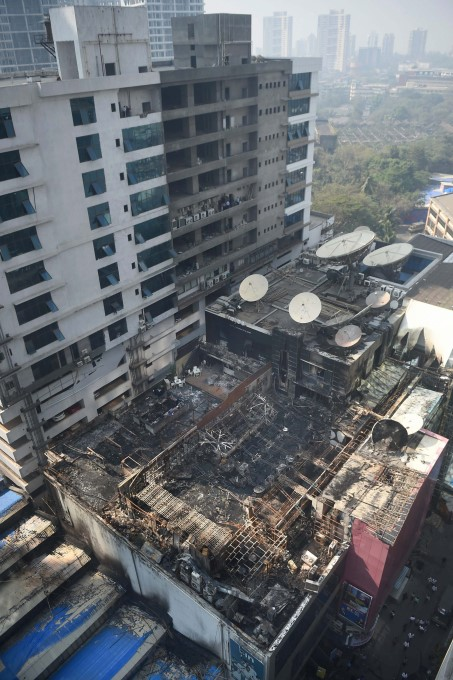 Fire Breaks Out At Kamala Mills In Mumbai