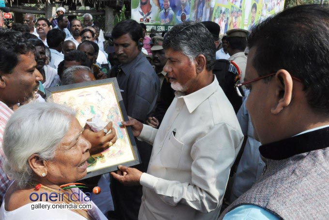 AP CM N CM N Chandrababu Naidu And His Family Celebrates Sankranti In Naravari Palle