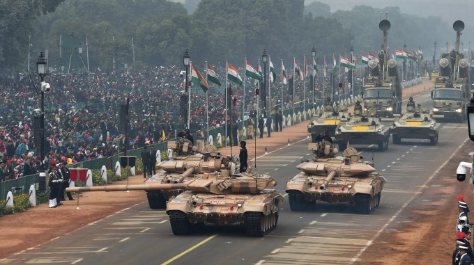Rehearsals For Republic Day Parade ( 2018 )