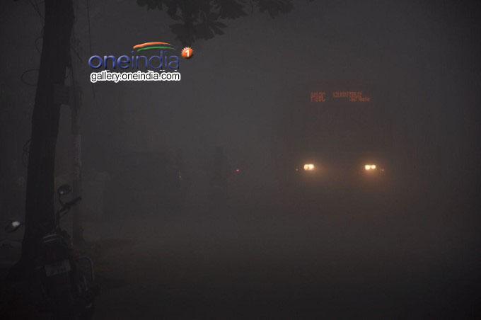 Fog Mixing With Bogi Smoke In Chennai