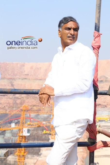 Harish Rao Inspects Kaleshwaram Project Photos: HD Images