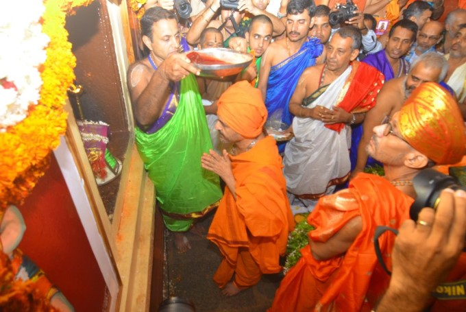 Udupi Paryaya Purapravesha By Vidyadeeshsa Swamiji