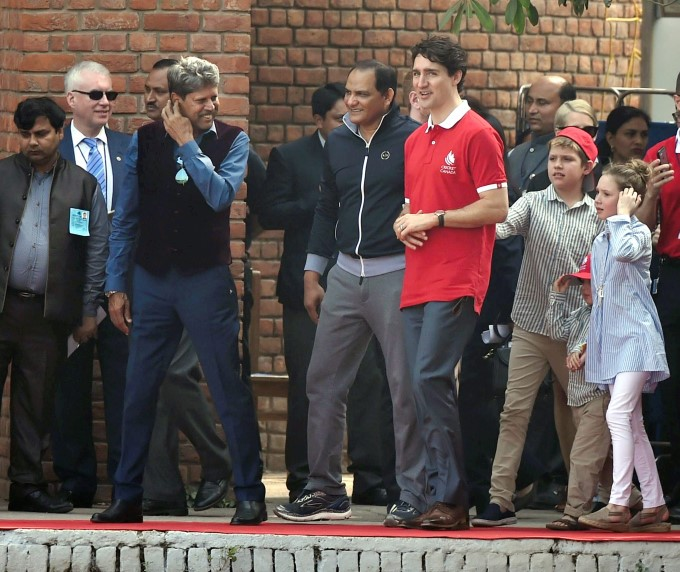 Canadian PM Justin Trudeau India Visit