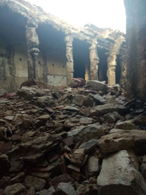 Fire Breaks Out At Madurai Meenakshi Temple