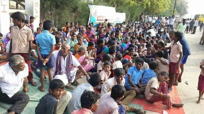 People Protest Against Sterlite Plant In Tuticorin