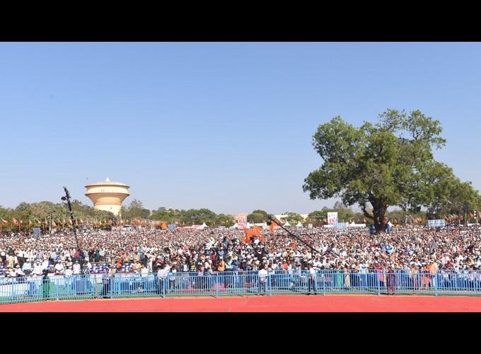 Prime Minister Narendra Modi In Mysuru