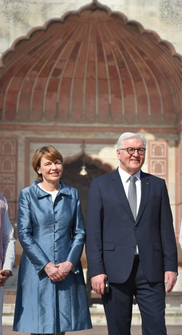 German President Frank Walter Steinmeier 5 Day India Visit