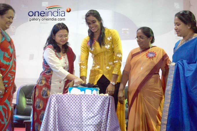 Photo Gallery: PV Sindhu At Women's Day Celebrations At St Ann's College For Women