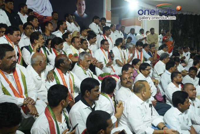 Photo Gallery: Telangana Congress MLAs Begin 48-Hour Hunger Strike