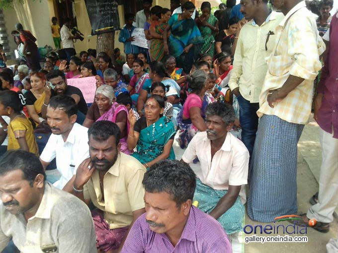 Protesters Against Sterlite Copper Plant In Tuticorin