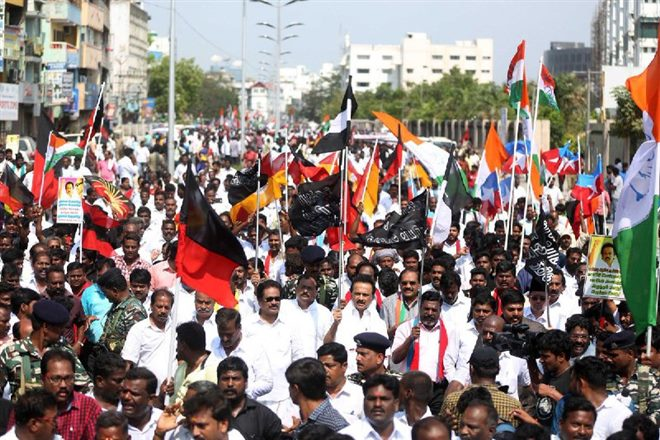 Tamil Nadu Bandh Over Cauvery Management Board