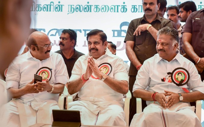 TN CM And Deputy CM Hunger Strike Over Cauvery Issue