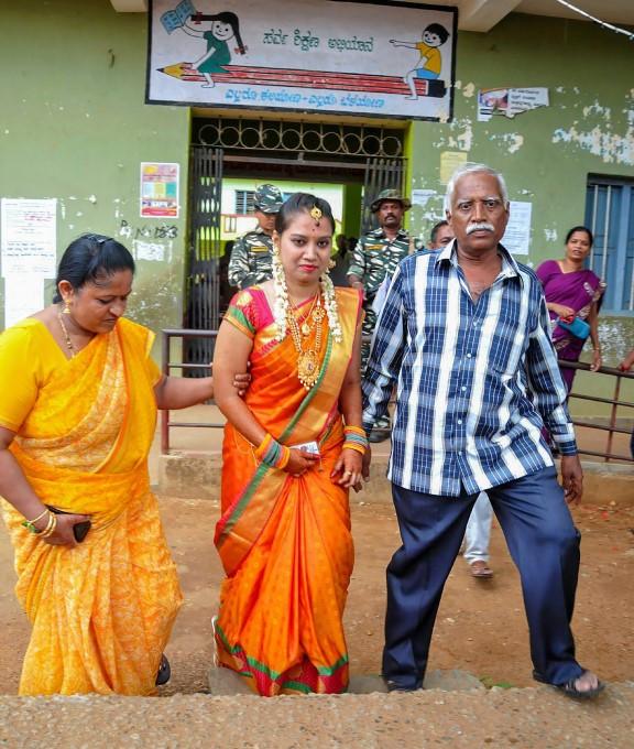 Karnataka Assembly Elections 2018 Voting