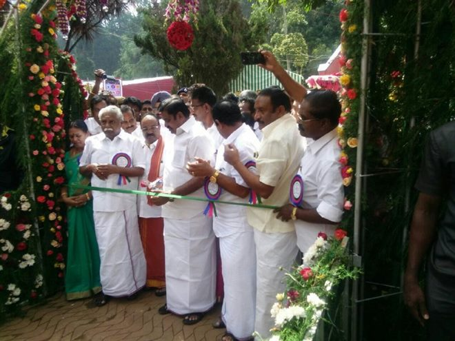 CM Inaugurates Ooty Flower Show 2018