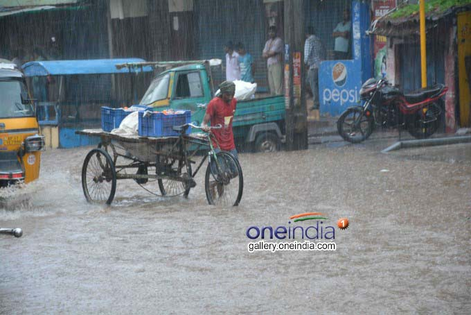 Heavy Rain Wreaks Havoc In Telangana And Andhra Pradesh