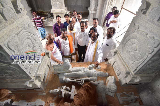 Yadadri Temple Construction Works In Yadagirigutta