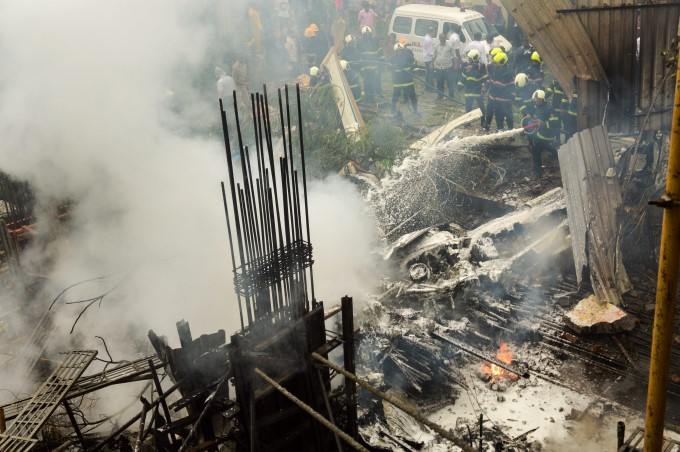 Chartered Plane Crash In Mumbai