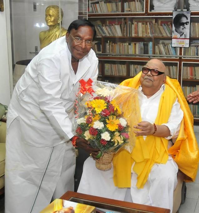 Unseen Pictures Of DMK President M Karunanidhi