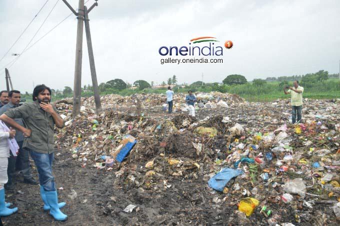 Pawan Kalyan Visits Bhimavaram Dumping Yard