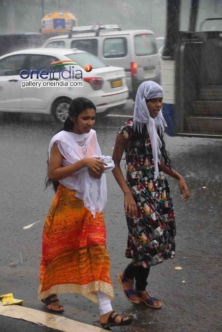 Monsoon In Visakhapatnam: Heavy Rain Lashes In Visakhapatnam