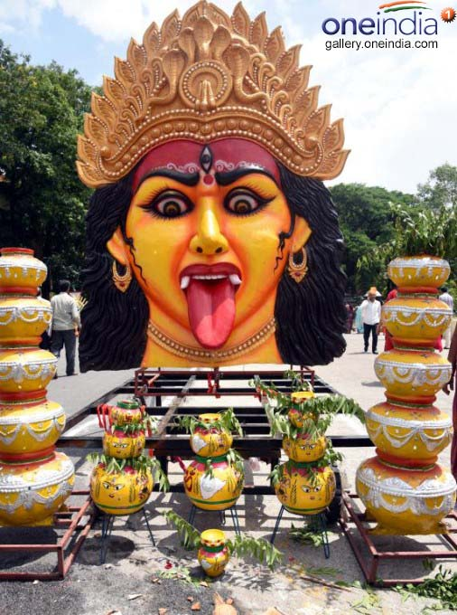 Bonalu Festival Celebrations In Telangana Secretariat