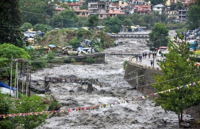 Heavy Rains Lash Himachal Pradesh