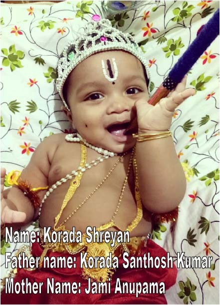 Krishna Janmashtami 2018: Adorable Pictures Of Children Dressed As Bal Krishna And Radha