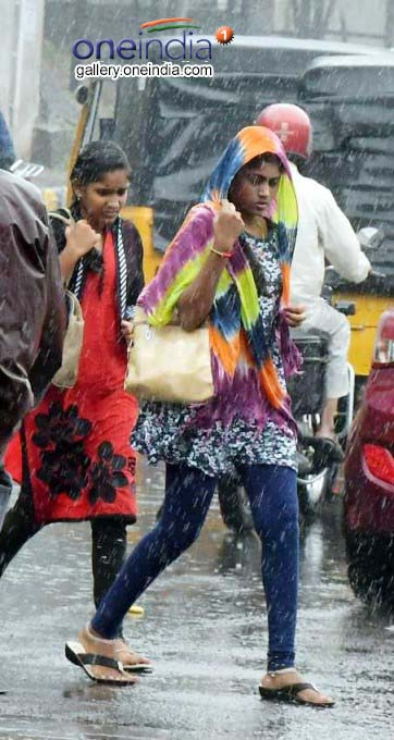 Heavy Rainfall In Visakhapatnam