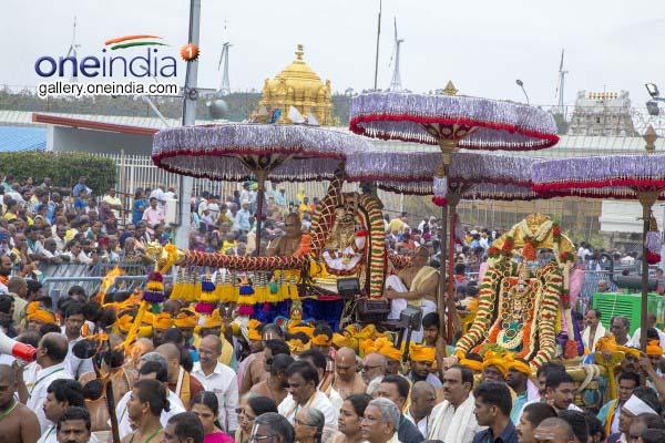 Sri Vari Annual Brahmotsavam In Tirumala