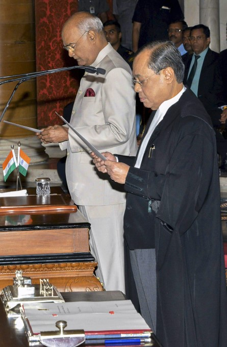 Ranjan Gogoi Sworn In As Chief Justice Of India