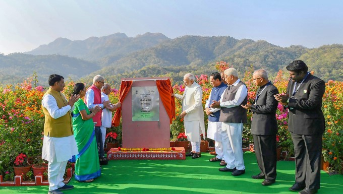 PM Narendra Modi Inaugurates Statue Of Unity In Gujarat