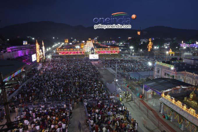 Tirumala Brahmotsavam 2018
