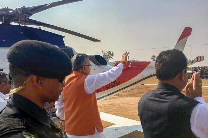 BJP Party Election Campaign In Chhattisgarh 2018